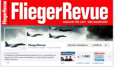 FliegerRevue auf Facebook