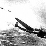 Schiffe im Visier alliierter Flugzeuge