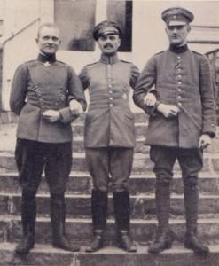 Manfred + Lothar v Richthofen mit Besuch