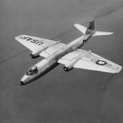 Martin B-57 Canberra für geheime Missionen über Deutschland