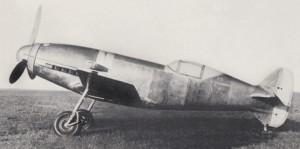 Messerschmitt Me209 V1 seite