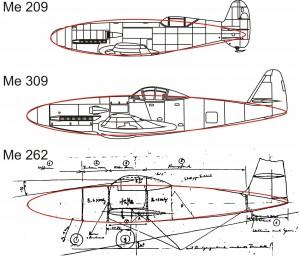 Messerschmitt Rumpfform
