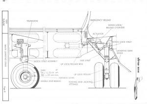 VFW614 landing gear