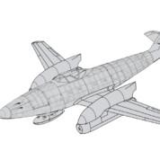 X-Projekte: Me 262 Langrumpf