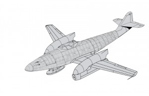 Me262 Langrumpf