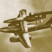 Mistel-Strahler-Projekte der Luftwaffe 1945