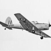 Spionage-Chipmunk der RAF über Berlin