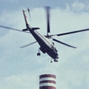 Interflug-Spezialflug und Großhubschrauber