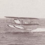 Erprobung von Seeflugzeugen in Warnemünde 1916/18
