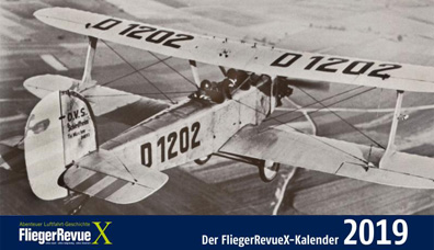 FliegerRevue X Kalender 2019