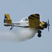 Agrar- und Löschflugzeug PZL M-18 Dromader