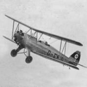 Schulflugzeug Focke-Wulf Fw 44 Stieglitz